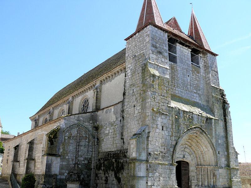 Photo du Monument Historique Eglise Saint-Etienne situé à Lauzun