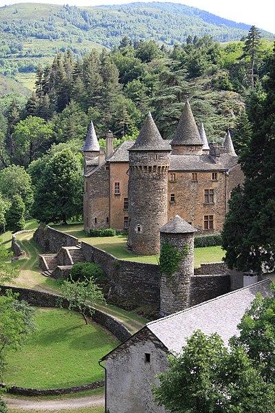 Photo du Monument Historique Château du Champ situé à Altier
