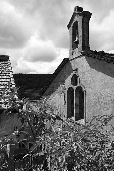 Photo du Monument Historique Eglise Notre-Dame de l'Assomption situé à Barre-des-Cévennes