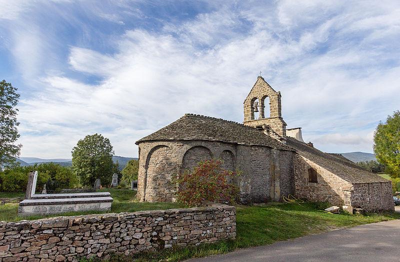 Photo du Monument Historique Eglise Saint-Laurent de Puylaurent situé à La Bastide-Puylaurent