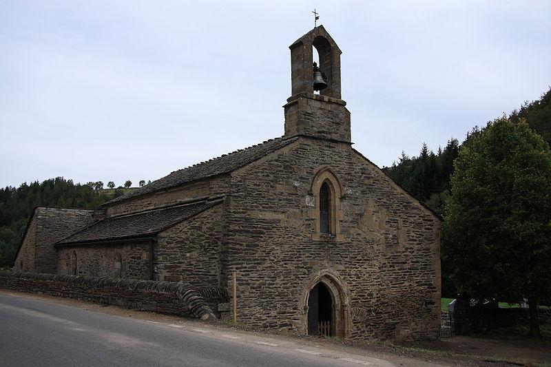 Photo du Monument Historique Ancienne église de Saint-Jean-du-Bleymard situé à Le Bleymard