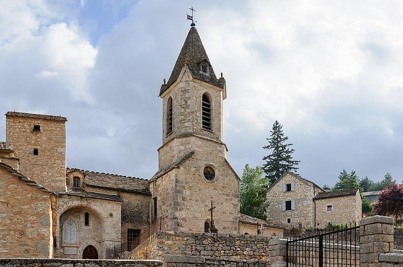 Photo du Monument Historique Eglise de la Capelle situé à La Canourgue