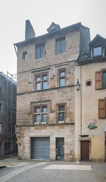 Photo du Monument Historique Maison situé à La Canourgue