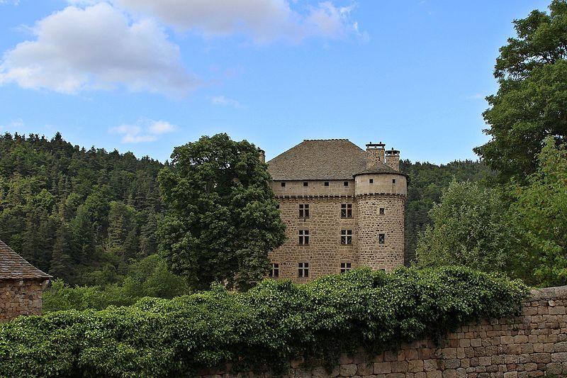 Photo du Monument Historique Château du Fort situé à Chambon-le-Château