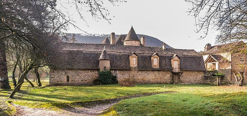 Photo du Monument Historique Château de Ressouches situé à Chanac