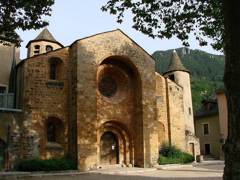Photo du Monument Historique Eglise Saint-Pierre Saint-Paul situé à Ispagnac