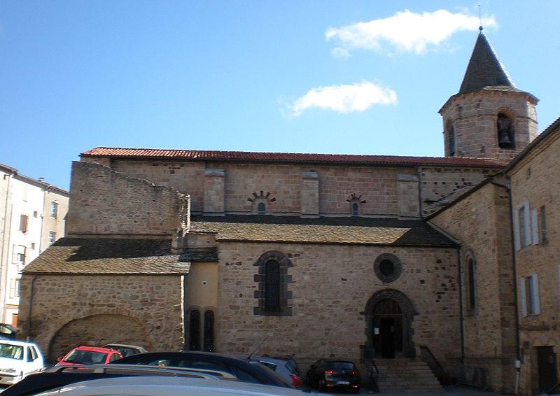 Photo du Monument Historique Eglise Saint-Gervais-Saint-Protais situé à Langogne