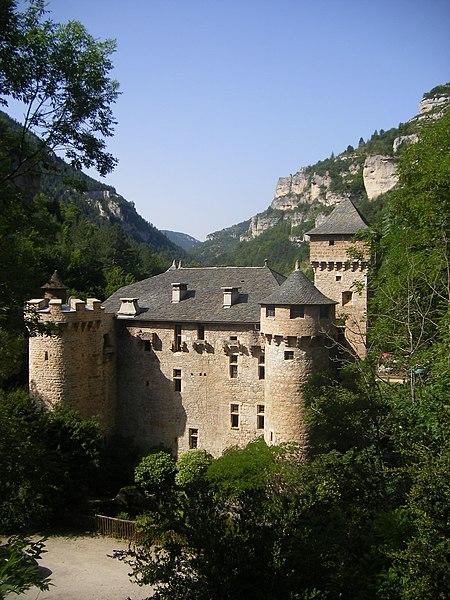 Photo du Monument Historique Château de la Caze situé à Laval-du-Tarn