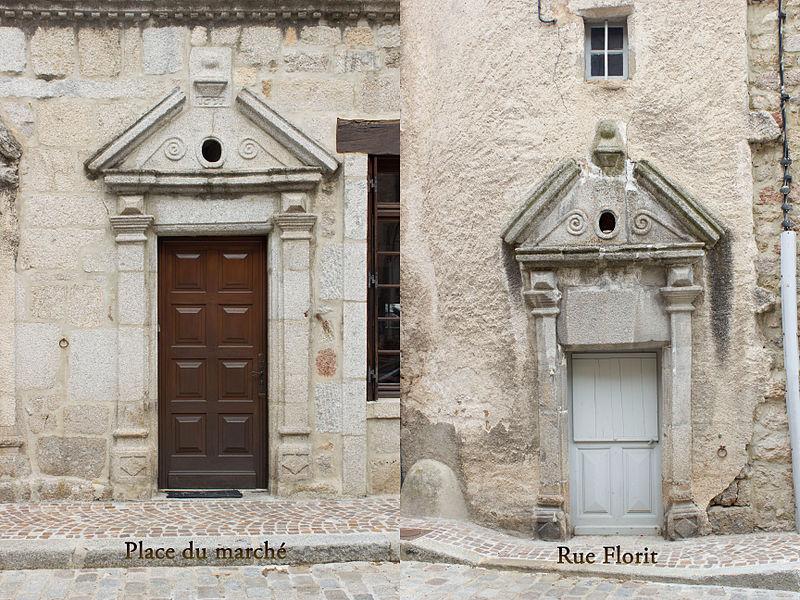 Photo du Monument Historique Immeuble situé à Le Malzieu-Ville