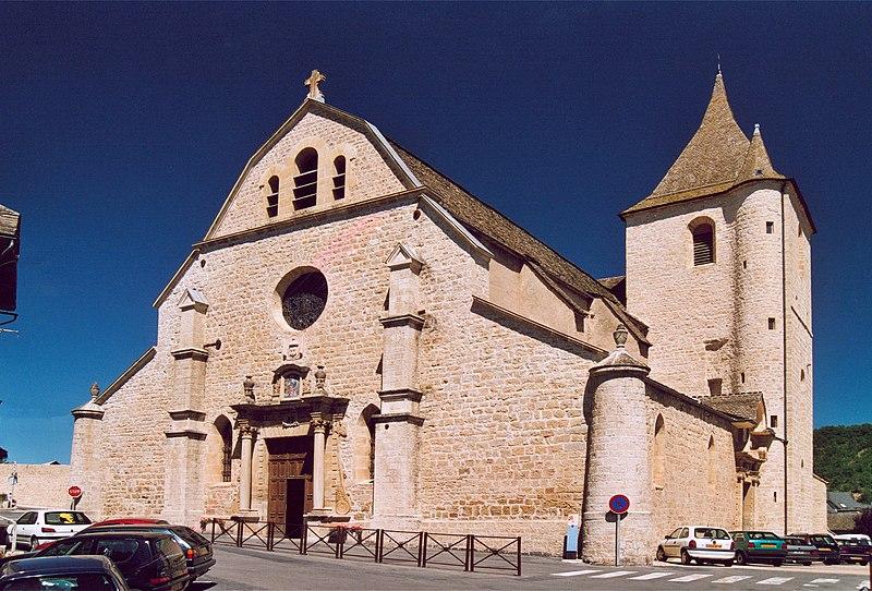 Photo du Monument Historique Eglise paroissiale Notre-Dame-de-la-Carce situé à Marvejols