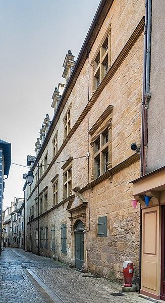 Photo du Monument Historique Immeuble situé à Marvejols