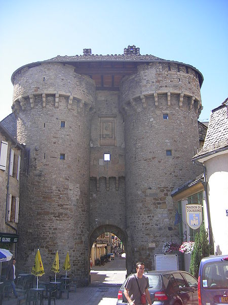 Photo du Monument Historique Porte de Soubeyran situé à Marvejols