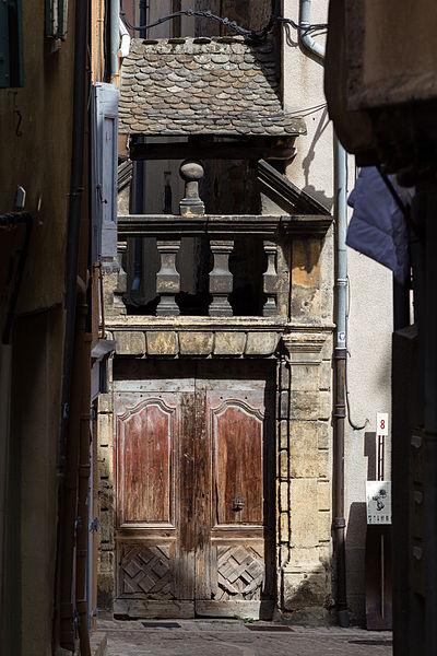 Photo du Monument Historique Ancien couvent des Ursulines situé à Mende