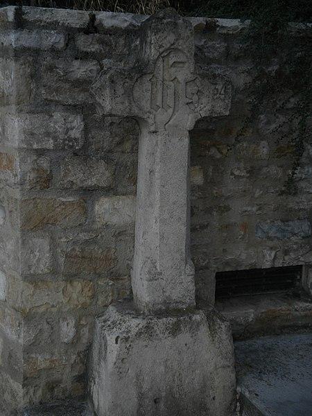 Photo du Monument Historique Croix en pierre situé à Mende