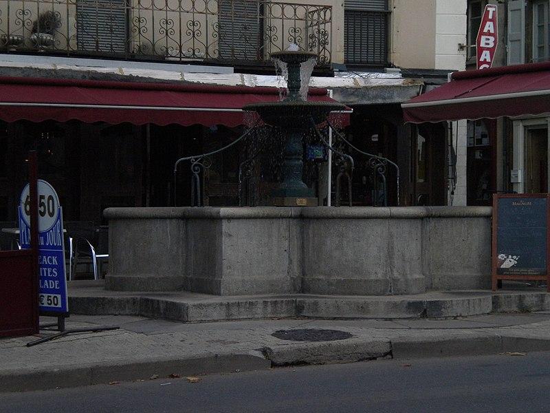 Photo du Monument Historique Fontaine d'Aigues-Passes situé à Mende