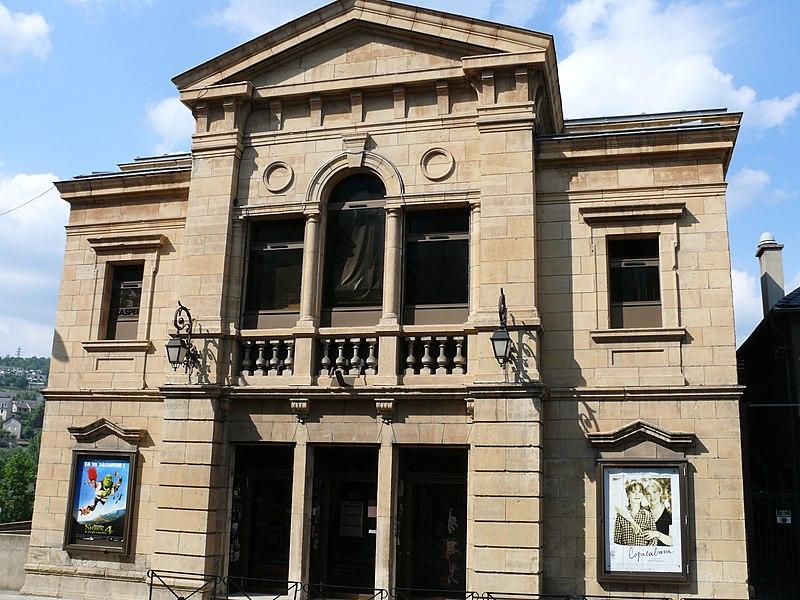 Photo du Monument Historique Ancien théâtre, actuellement cinéma le Trianon situé à Mende