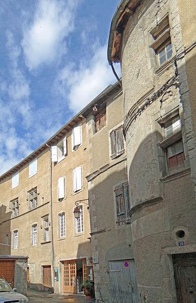 Photo du Monument Historique Maison situé à Meyrueis