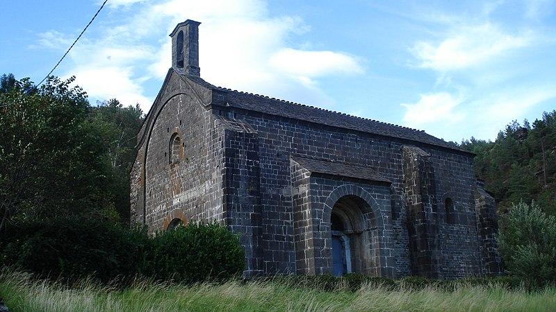 Photo du Monument Historique Ancienne église de Notre-Dame-de-Val-Francesque situé à Moissac-Vallée-Française