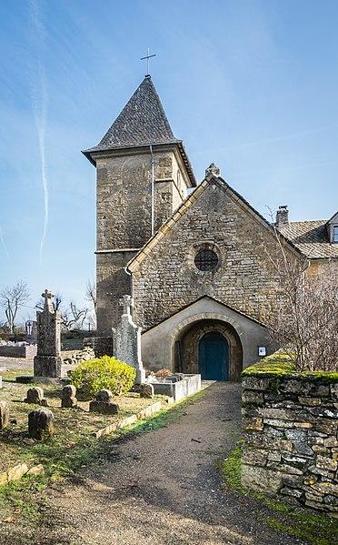 Photo du Monument Historique Eglise paroissiale Saint-Nicolas du Pin situé à Le Monastier-Pin-Moriès