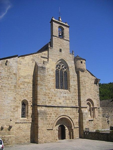 Photo du Monument Historique Eglise Saint-Sauveur-de-Chirac situé à Le Monastier-Pin-Moriès