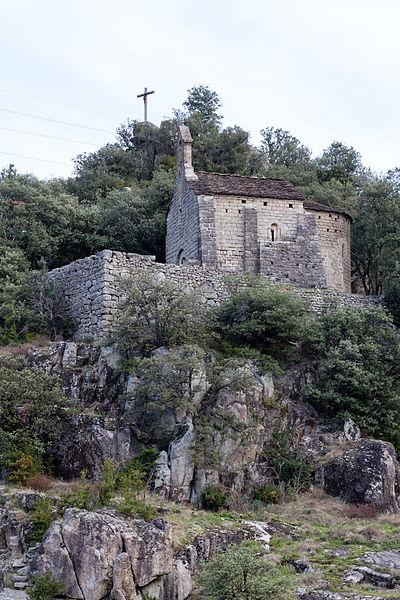 Photo du Monument Historique Chapelle de la Madeleine situé à Pied-de-Borne