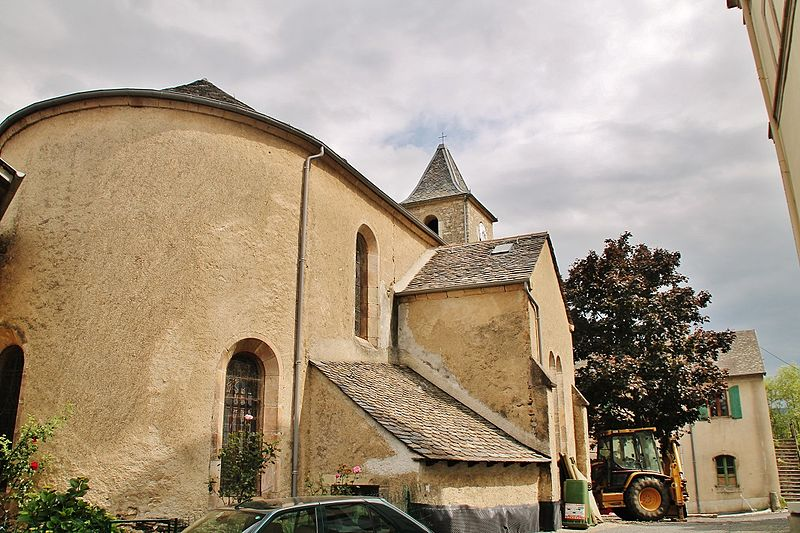 Photo du Monument Historique Ancienne église Saint-Flour situé à Le Pompidou
