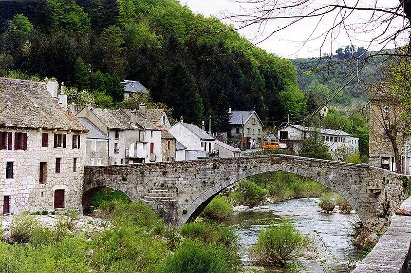 Photo du Monument Historique Pont de Montvert situé à Le Pont-de-Montvert