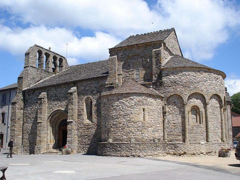 Photo du Monument Historique Eglise Saint-Pierre situé à Prévenchères