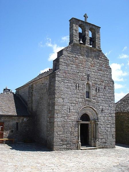Photo du Monument Historique Eglise Saint-Michel de la Garde-Guérin situé à Prévenchères