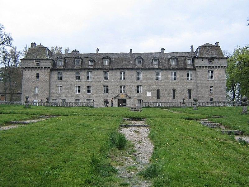 Photo du Monument Historique Château de la Baume situé à Prinsuéjols