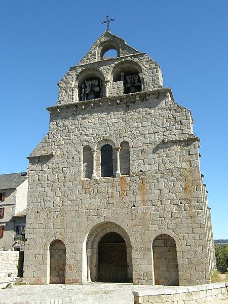 Photo du Monument Historique Eglise Saint-Caprais situé à Prunières