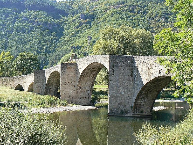 Photo du Monument Historique Pont situé à Quézac