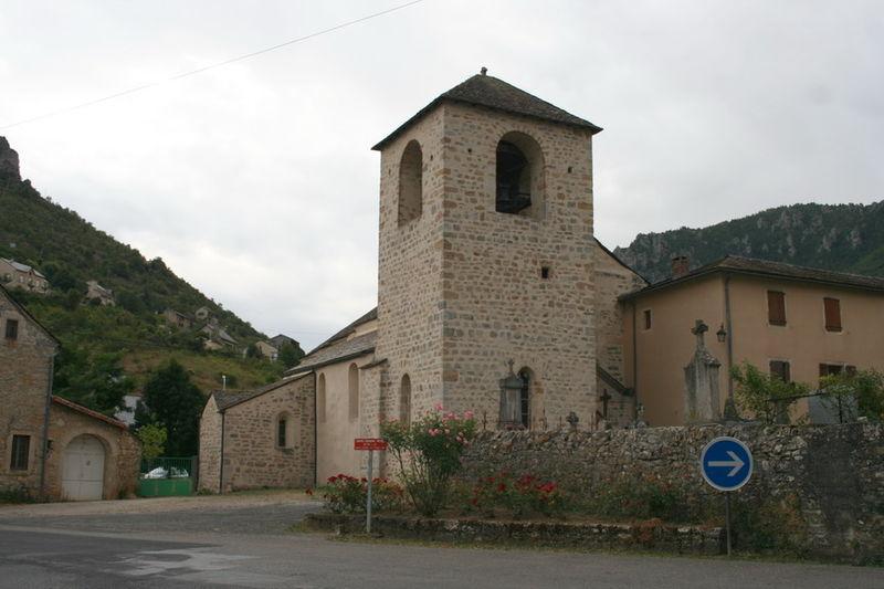Photo du Monument Historique Eglise Saint-Sauveur situé à Le Rozier