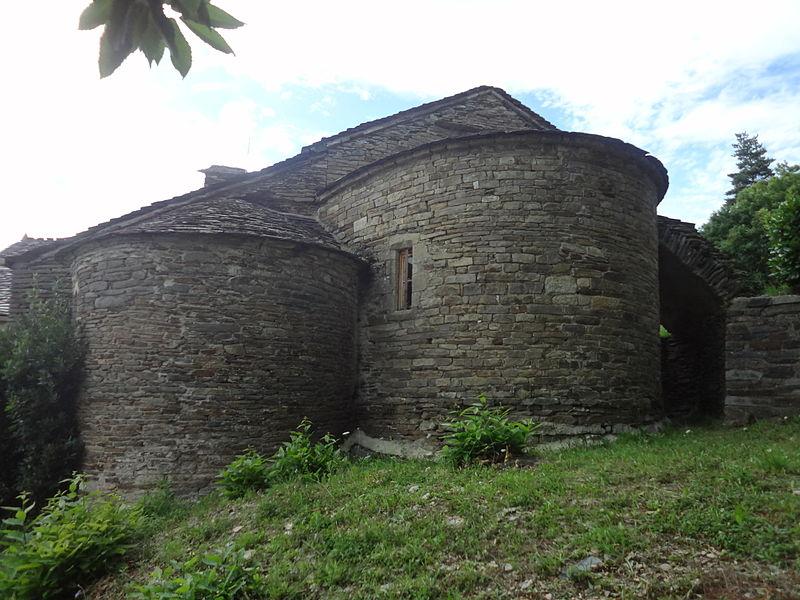Photo du Monument Historique Eglise Notre-Dame-de-la-Salette situé à Saint-Privat-de-Vallongue