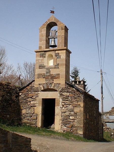 Photo du Monument Historique Clocher de tourmente d'Oultet situé à Saint-Julien-du-Tournel