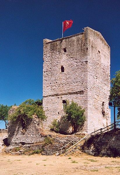 Photo du Monument Historique Château de Chanac situé à Chanac