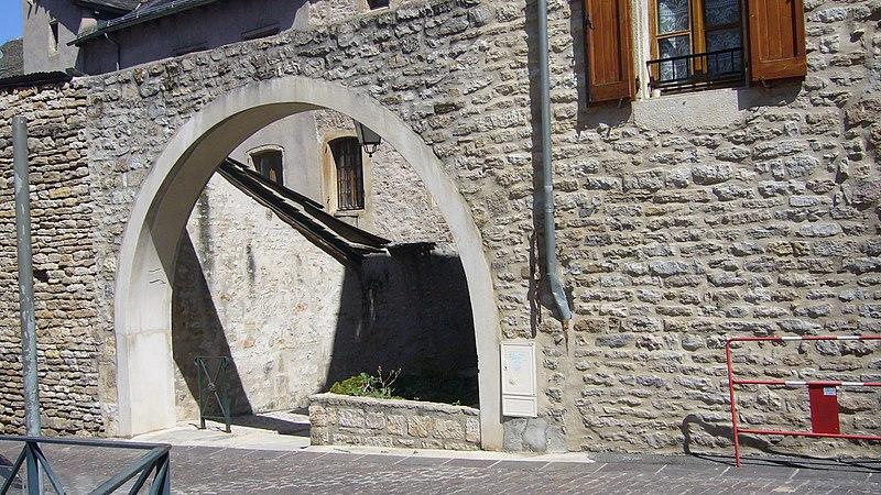 Photo du Monument Historique Immeuble dit ancienne synagogue situé à Mende