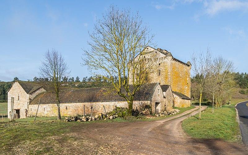 Photo du Monument Historique Domaine de Grandlac situé à Laval-du-Tarn