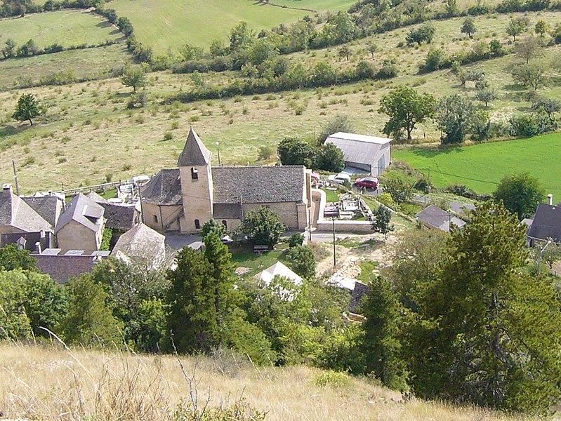 Photo du Monument Historique Eglise paroissiale Saint-Frézal situé à Grèzes