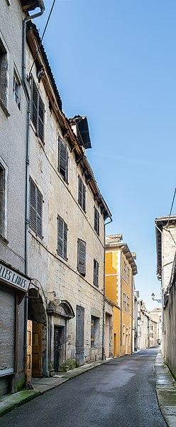 Photo du Monument Historique Hôtel de Rouvière dit maison Dides situé à Marvejols