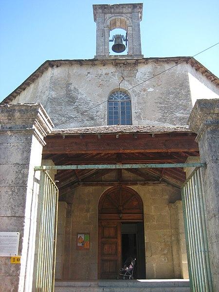 Photo du Monument Historique Temple protestant situé à Meyrueis
