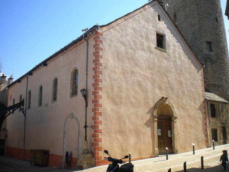 Photo du Monument Historique Ancienne chapelle des Pénitents Blancs situé à Mende