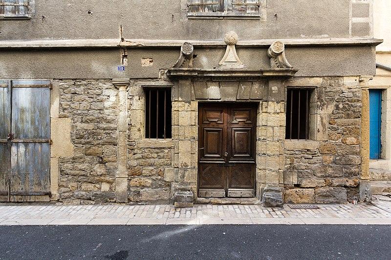 Photo du Monument Historique Ancien hôtel dit maison Pons situé à Mende
