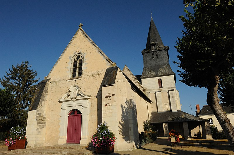 Photo du Monument Historique Eglise Saint-Symphorien situé à Andard