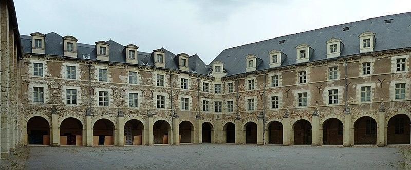 Photo du Monument Historique Ancienne abbaye du Ronceray situé à Angers