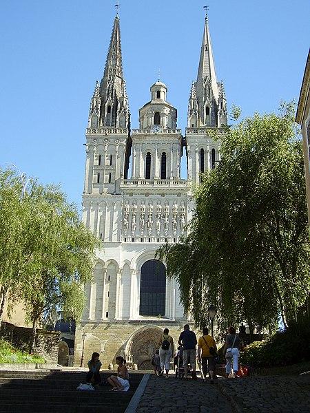 Photo du Monument Historique Cathédrale Saint-Maurice situé à Angers