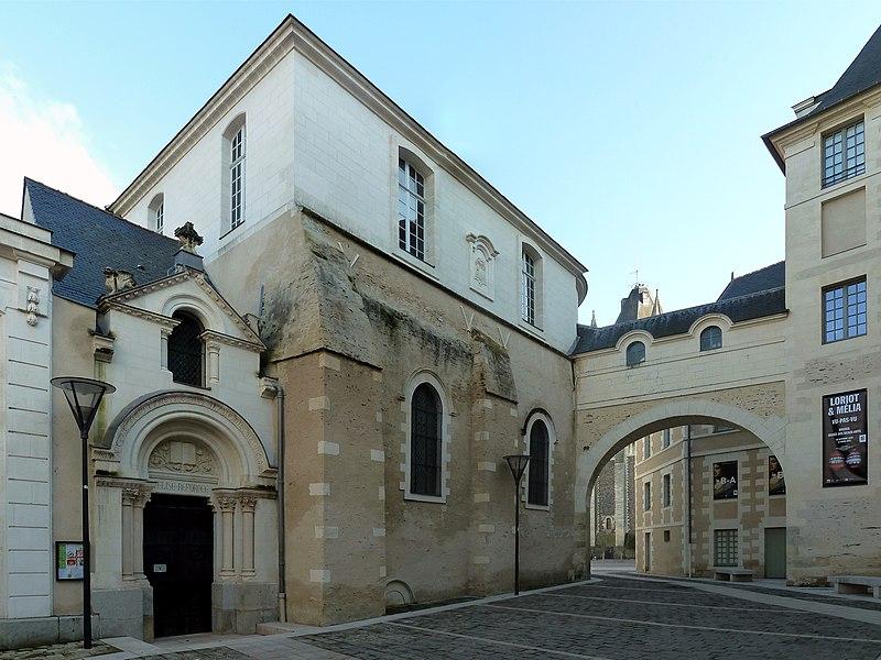 Photo du Monument Historique Temple (ancienne chapelle saint-Eloi) situé à Angers