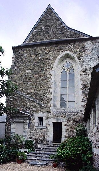 Photo du Monument Historique Couvent des Augustins situé à Angers
