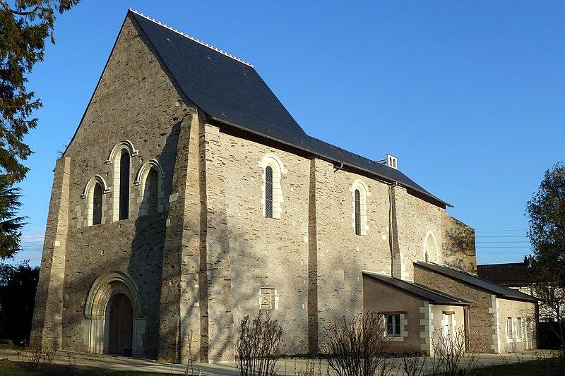 Photo du Monument Historique Eglise Saint-Augustin-lès-Angers situé à Angers