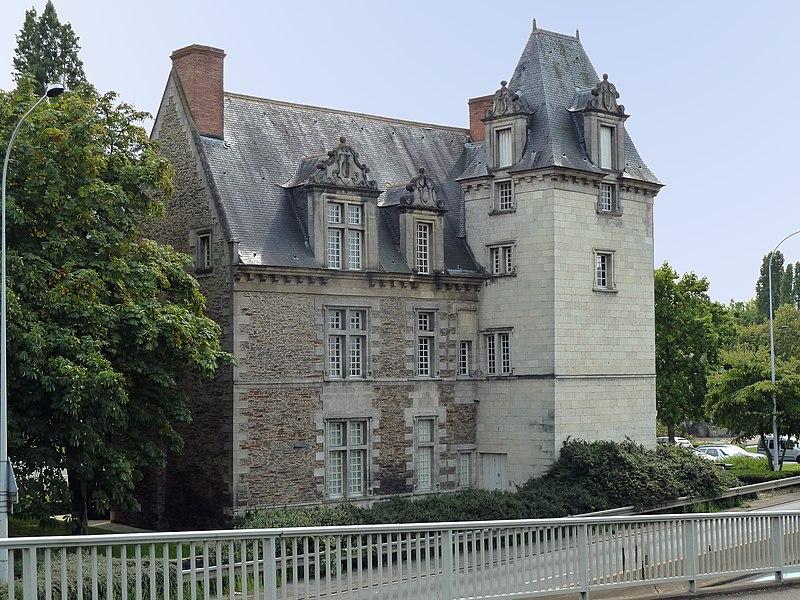 Photo du Monument Historique Hôtel du Roi de Pologne situé à Angers